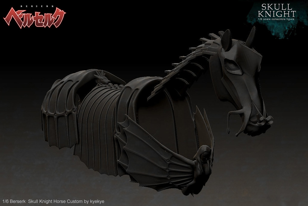 1/6 scale horse armor custom for Skull knight from [Berserk] 43432315912_2b721eaba7_b