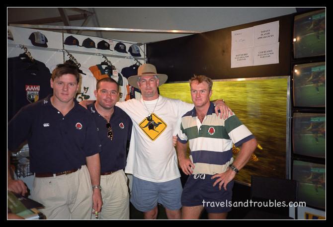 Matt Burke, Cam Blades (NSW Waratah en Wallabies)
