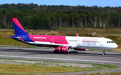 WizzAir Hungary A321-231 (WL) HA-LXO