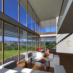 3d interior rendering design