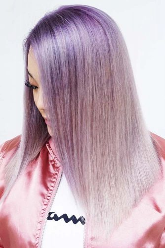 Latest Lavender Hair Color To Adopt The Newest Trend 9