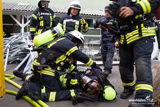 Gebäudebrannt Oestrich Winkel - 16.06.18