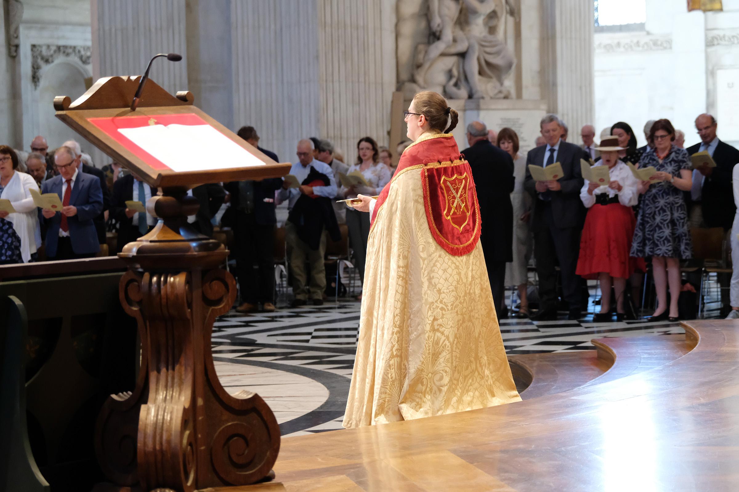 Rev Rosemary Morton, Minor Canon and Succentor