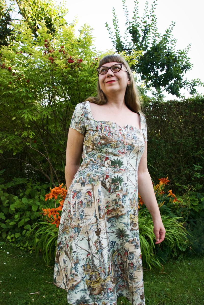 The Ahoy Ahoy dress