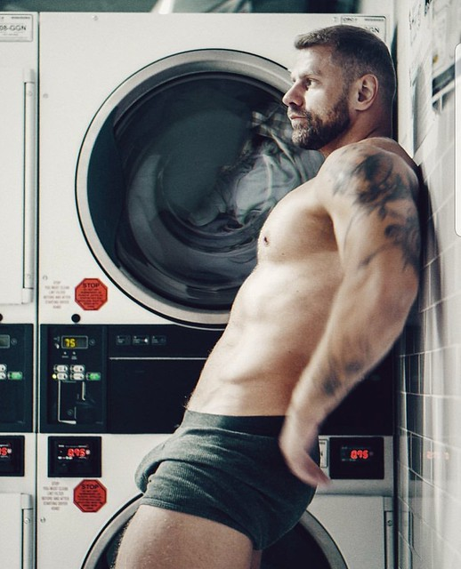 Just doing the laundry...
