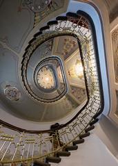 Staircase Art Nouveau Museum Riga