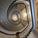 Makepictures posted a photo:One of the few restored interiors of an Art Nouveau building in Riga that is open to the public. Much photographed. The challenges were the really poor light and trying to get something different than the standard shot.