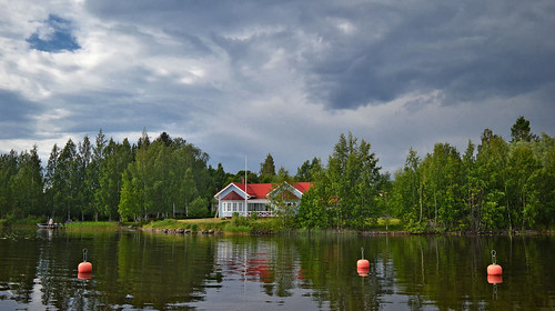 Calm after the rain... Finland, summer.