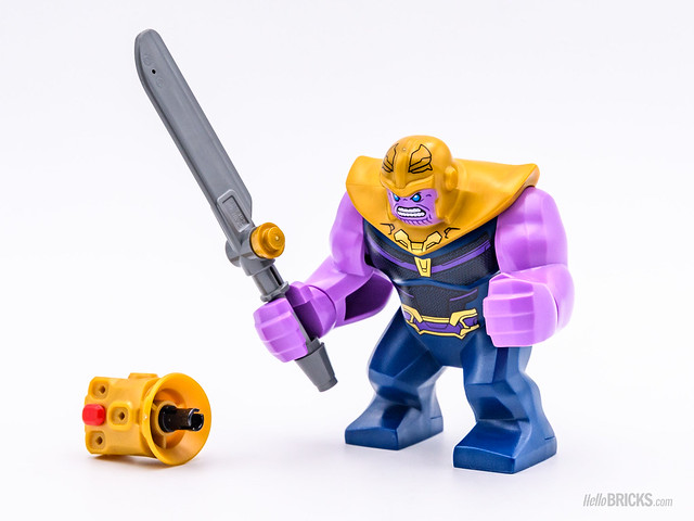 REVIEW LEGO Marvel 76107 Thanos Ultimate Battle 01