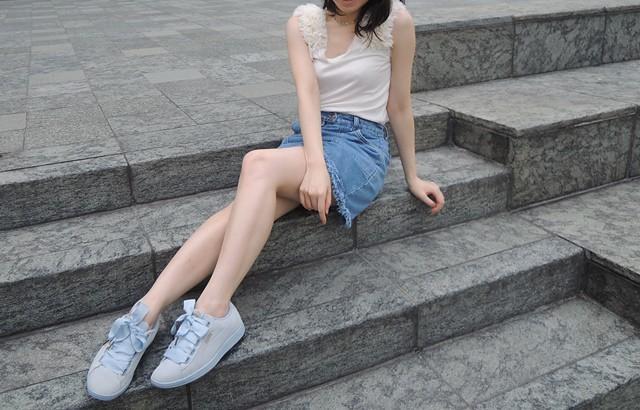 好動甜美.PUMA 女生系休閒球鞋!