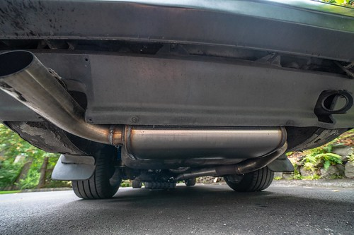 Exhaust 3 Volvo 240