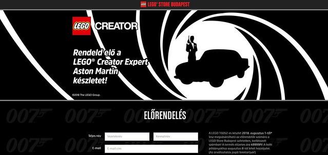Więcej zapowiedzi LEGO Creator 10262 Aston Martin DB5 (2)