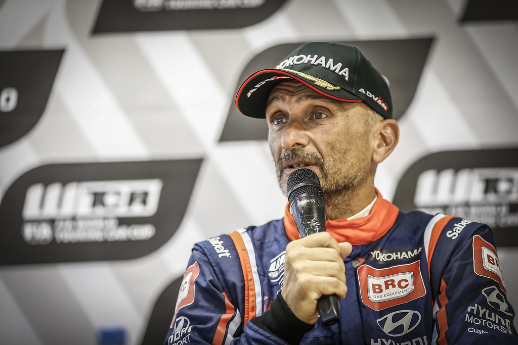 TARQUINI Gabriele, (ita), Hyundai i30 N TCR team BRC Racing, portrait during the 2018 FIA WTCR World Touring Car cup race of Slovakia at Slovakia Ring, from july 13 to 15 - Photo Jean Michel Le Meur / DPPI