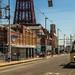 Busy scene in Blackpool