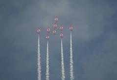 RAF Red Arrows Aerobatic Team (13)
