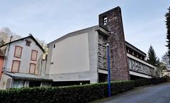 Eglise de la Sainte Trinité, Capvern les bains, 1968, Paul Noyer