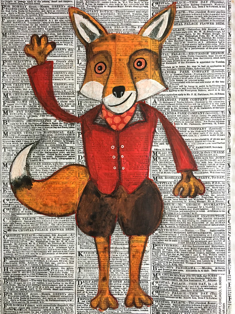 Rainbow Art Journal Fantastic Mr Fox A Pict In Pa