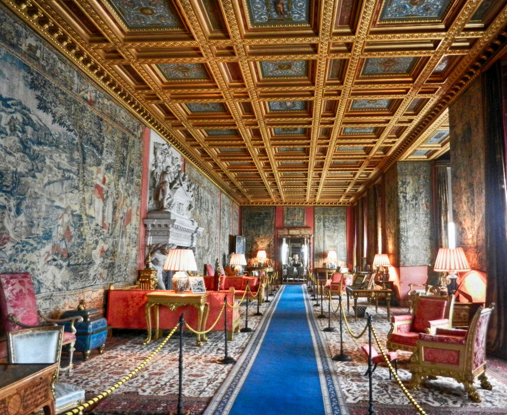 The Saloon at Longleat House. Credit Ljuba brank