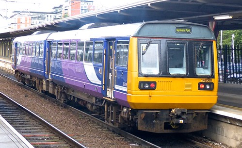 Class 142 'Northern Rail' No. 142060. BREL Pacer DMU on 'Dennis Basford's railsroadsrunways.blogspot.co.uk'