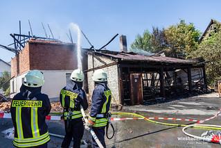 Scheunenvollbrand Usingen Wernborn