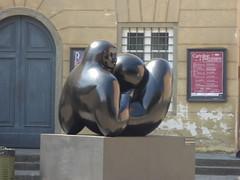 Jiménez Deredia sculpture trail - Lucca