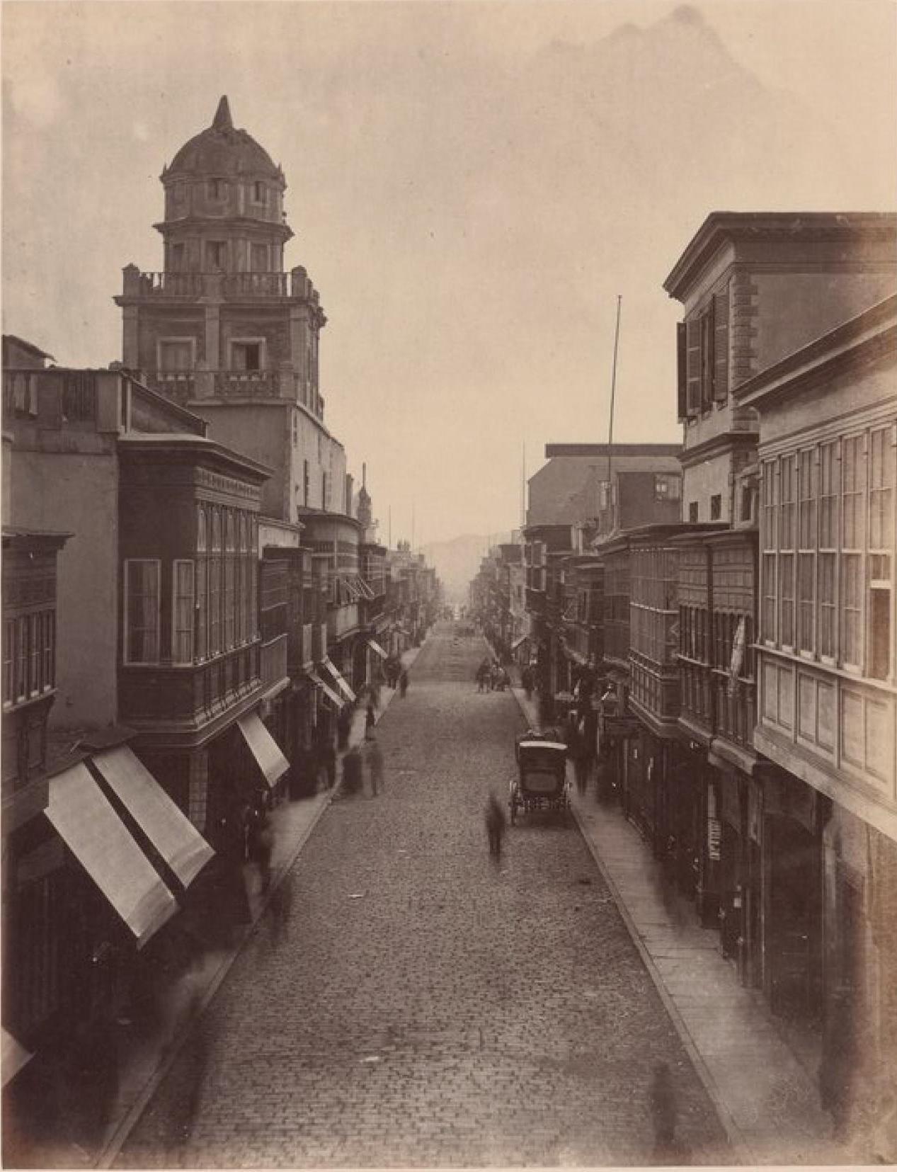 Лима. Улица Мантиду