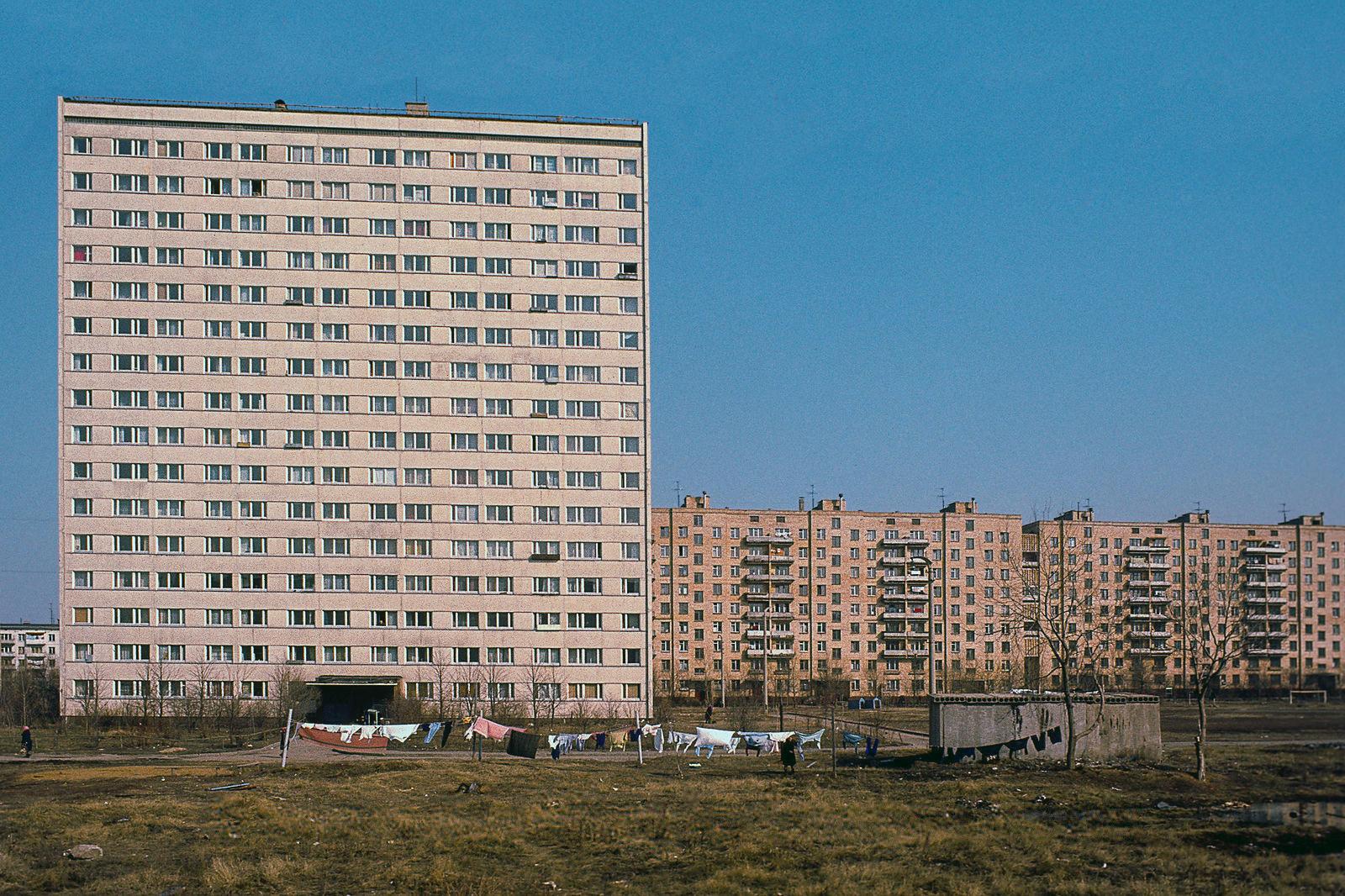 Дома на Пролетарском проспекте
