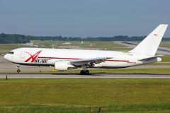 ABX Air 767-200F landing at Cincinnati
