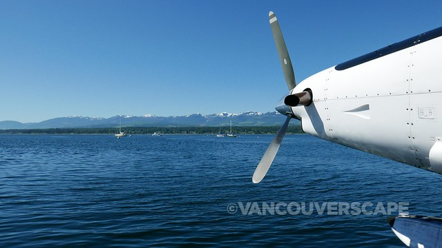 Harbour Air/landing in Comox