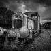 Rusty old train by Angela xx