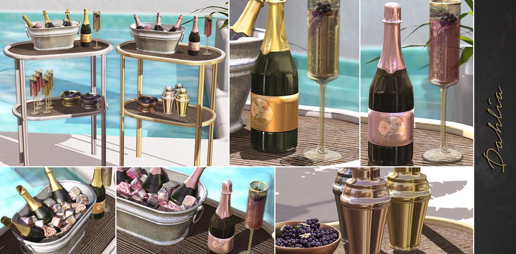 Dahlia - Cora's Summer Champagne set - TeleportHub.com Live!