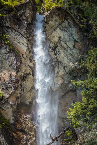 Gschwandbachwasserfall im Pitztal