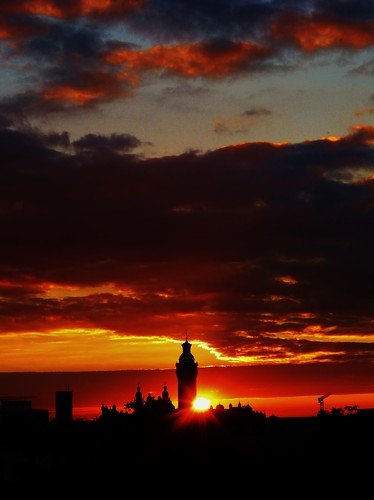 Sonnenuntergang 19.6.2018 Leipzig 012