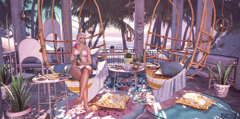 Beach Cabanas.