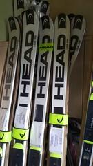 NOVÉ lyže HEAD GS RD + Head Freeflex Pro 20X RD - titulní fotka
