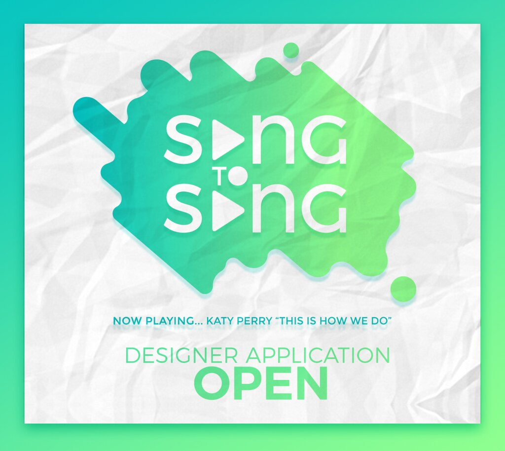 Song To Song ♫ ♪Designer Application Open ♫ ♪