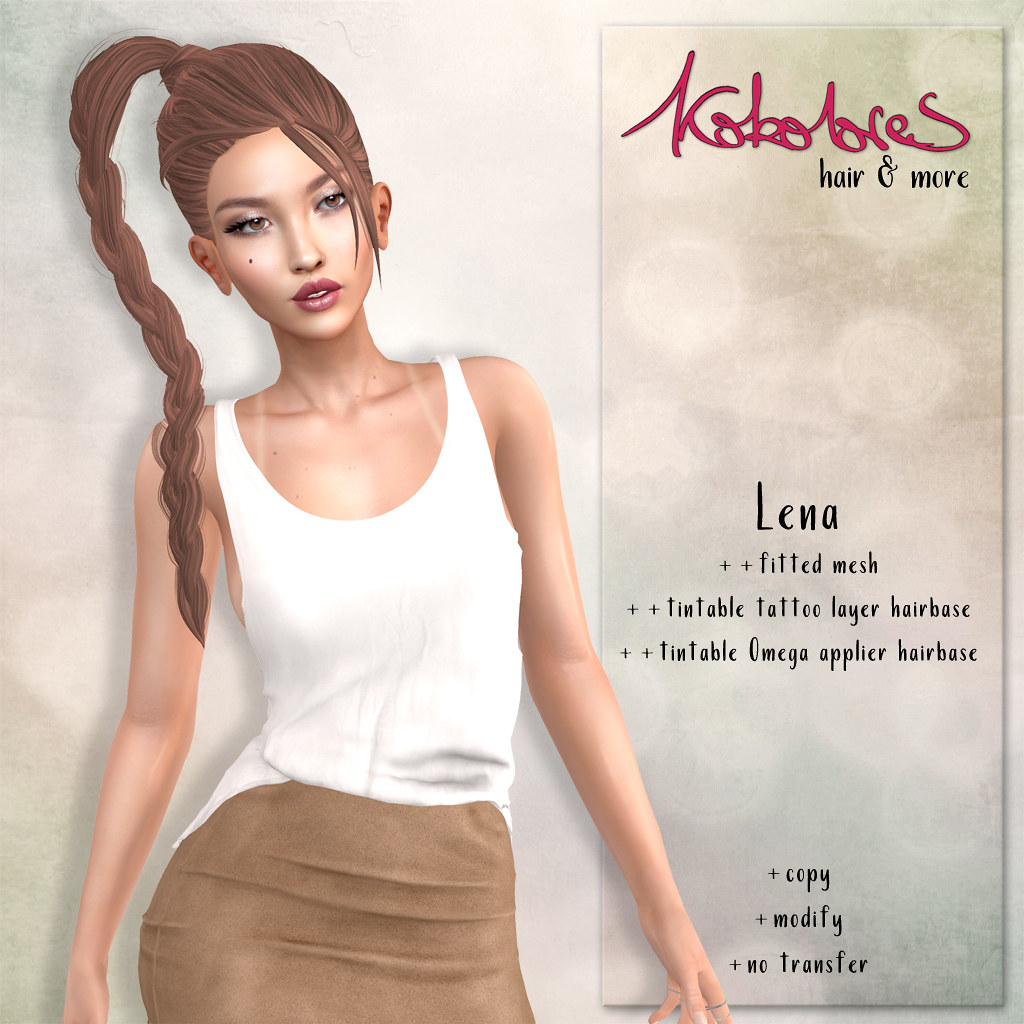 [KoKoLoReS] Hair - Lena for Fly Buy Friday! - TeleportHub.com Live!