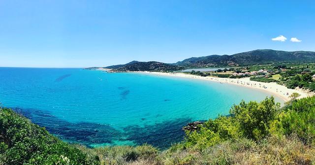Pano of Chia Beaches