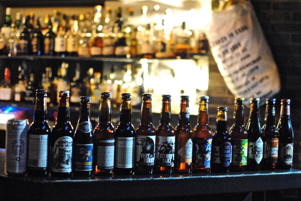 > Bars à bières à Naples : La belle collec' du Mosto.