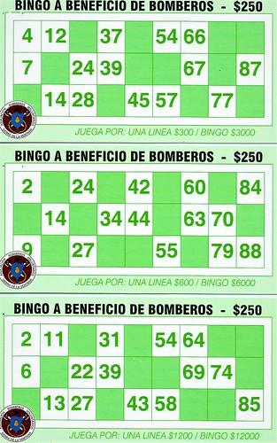 Bingo bomberos