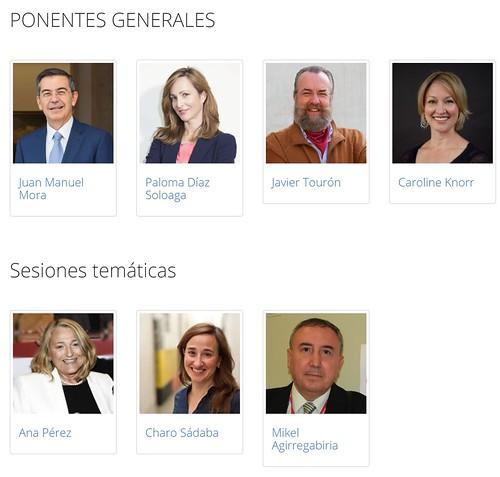 Ponentes Congreso Internacional Interaxion 2018