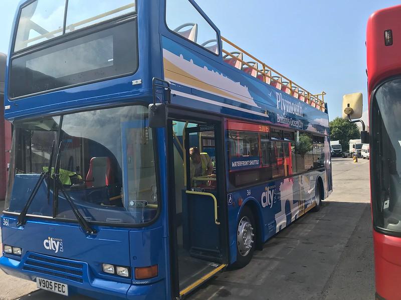 Plymouth Citybus 361 V905FEC