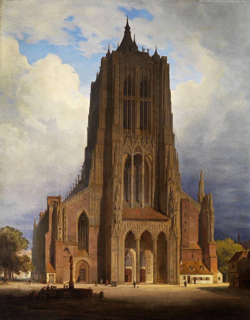 Max Emanuel Ainmiller - Das Ulmer Münster