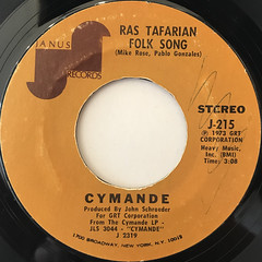 CYMANDE:BRA(LABEL SIDE-B)