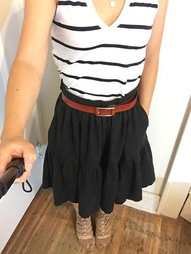McCall's 7604 skirt