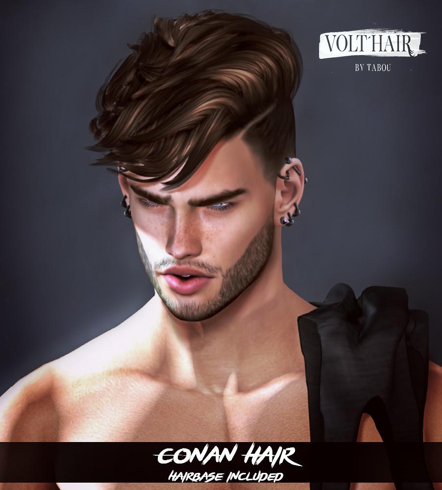 Conan Hair@ equal10 - TeleportHub.com Live!