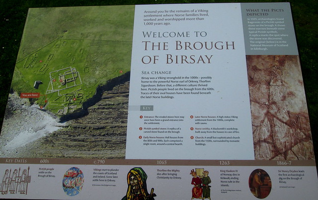 Brough of Birsay Information Board