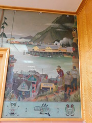 Wrangell Alaska Post Office Mural