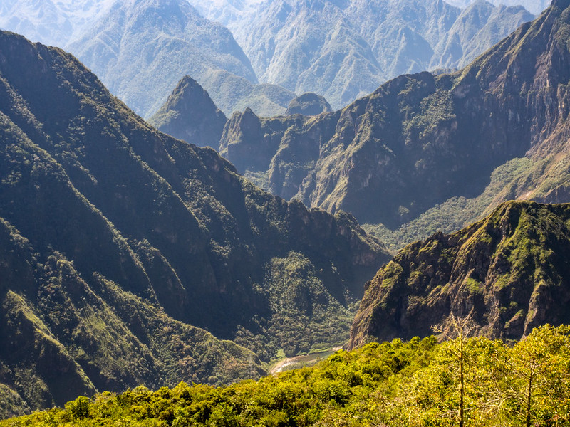 Machu Picchu From Llactapata With Rio Aobamba