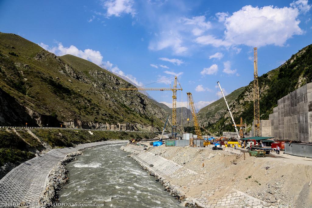 Как проходит самая масштабная стройка на Северном Кавказе.